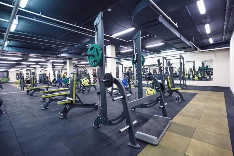 Тренажерный зал фитнес-центра Аргумент